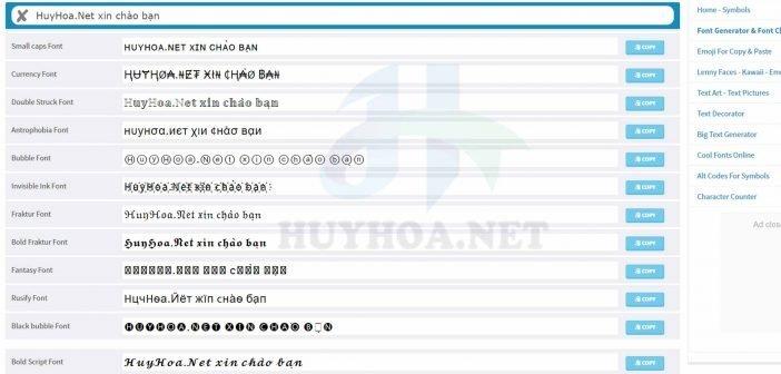 Viết chữ tiếng Việt đẹp online
