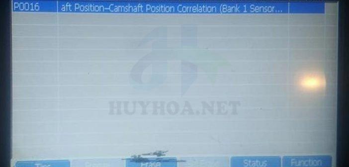 Nguyên nhân, biểu hiện và cách khắc phục lỗi P0016 - HuyHoa.Net