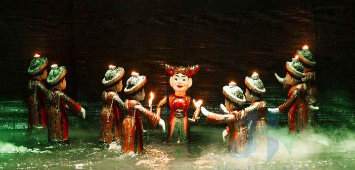 Vietnam Art - Water Puppet