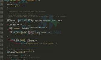 Hướng dẫn sử dụng hàm get_terms trong Wordpress