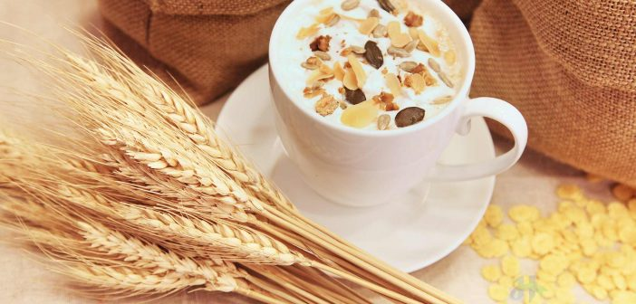 Yến mạch kết hợp sữa tươi hoặc sữa chua, trái cây và chút mật ong là bữa sáng giàu dinh dưỡng