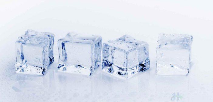 Đá lạnh có thể thay thế mặt nạ thu nhỏ lỗ chân lông