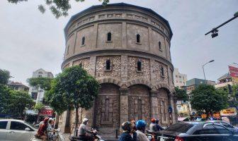 Hang Dau water tower - Tháp nước Hàng Đậu