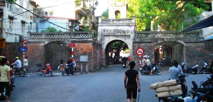 Quan Chuong city gate today