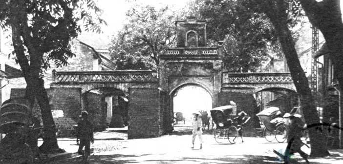 Thanh Ha city gate