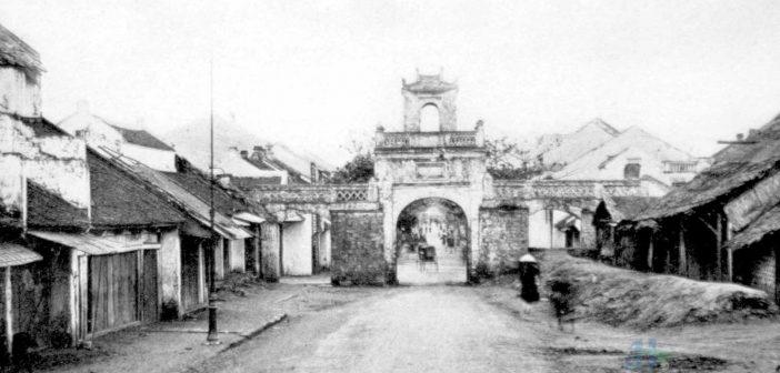 Quan Chuong city gate past