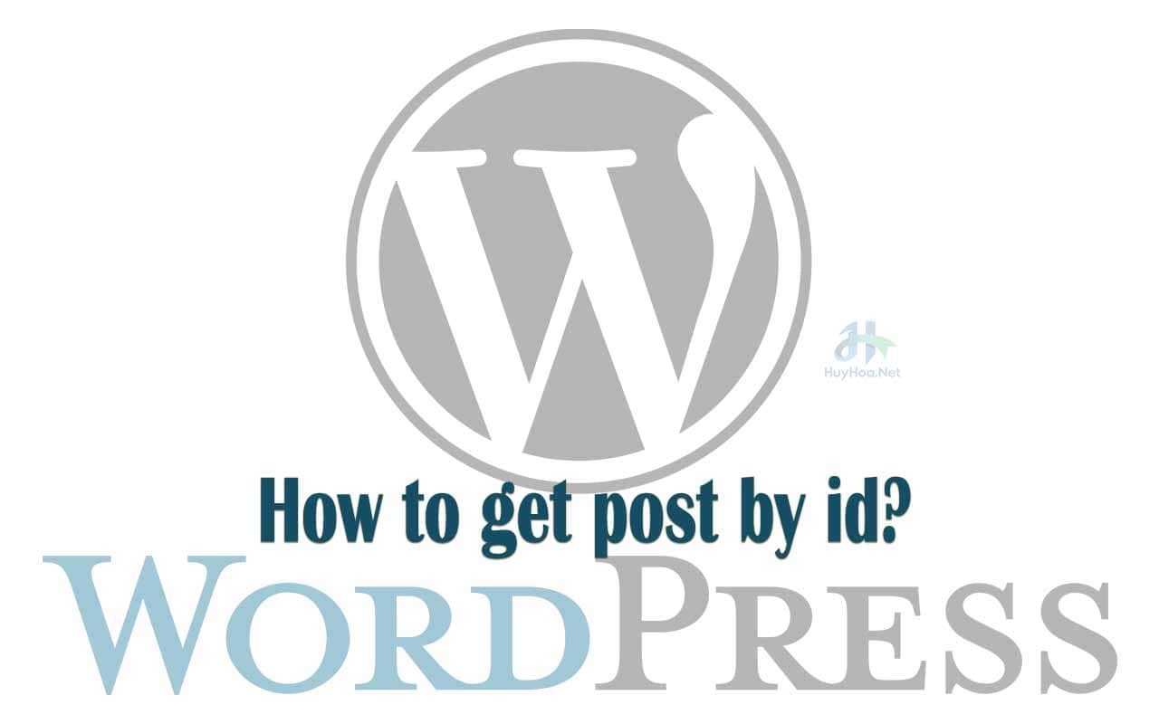How to get post by ID?