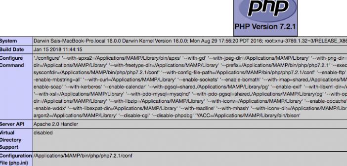Edit MAMP php.ini