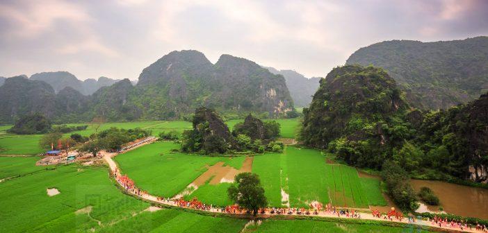 Lễ hội đền Thái Vi - Ninh Bình