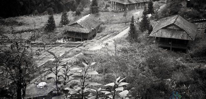 Một bản người dân tộc ở Sapa những năm 1960