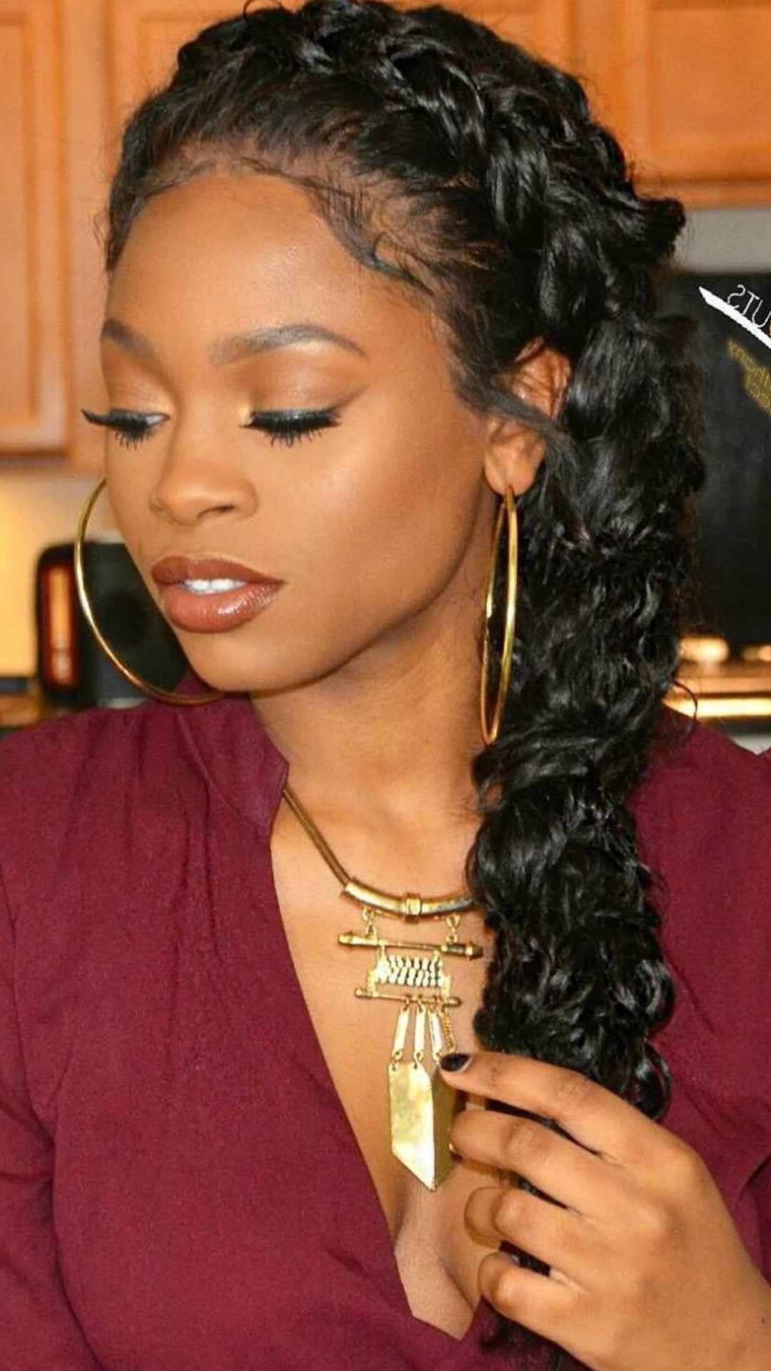 Dutch Braid Crown For Black Hair