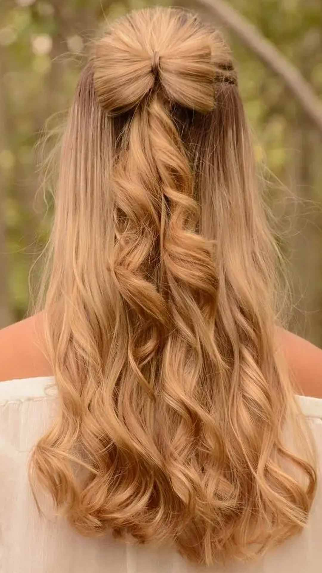 Half-Up Hairbow