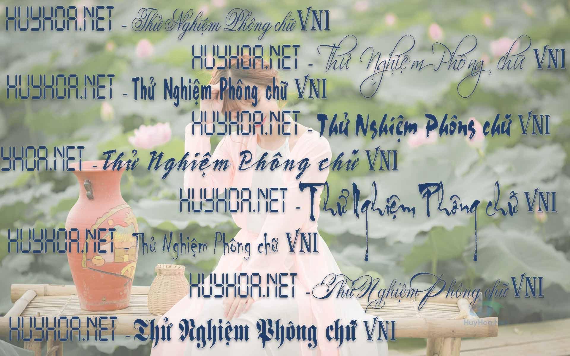Font VNI Full - 750+ Font Tiếng Việt Cho Kiểu Gõ VNI