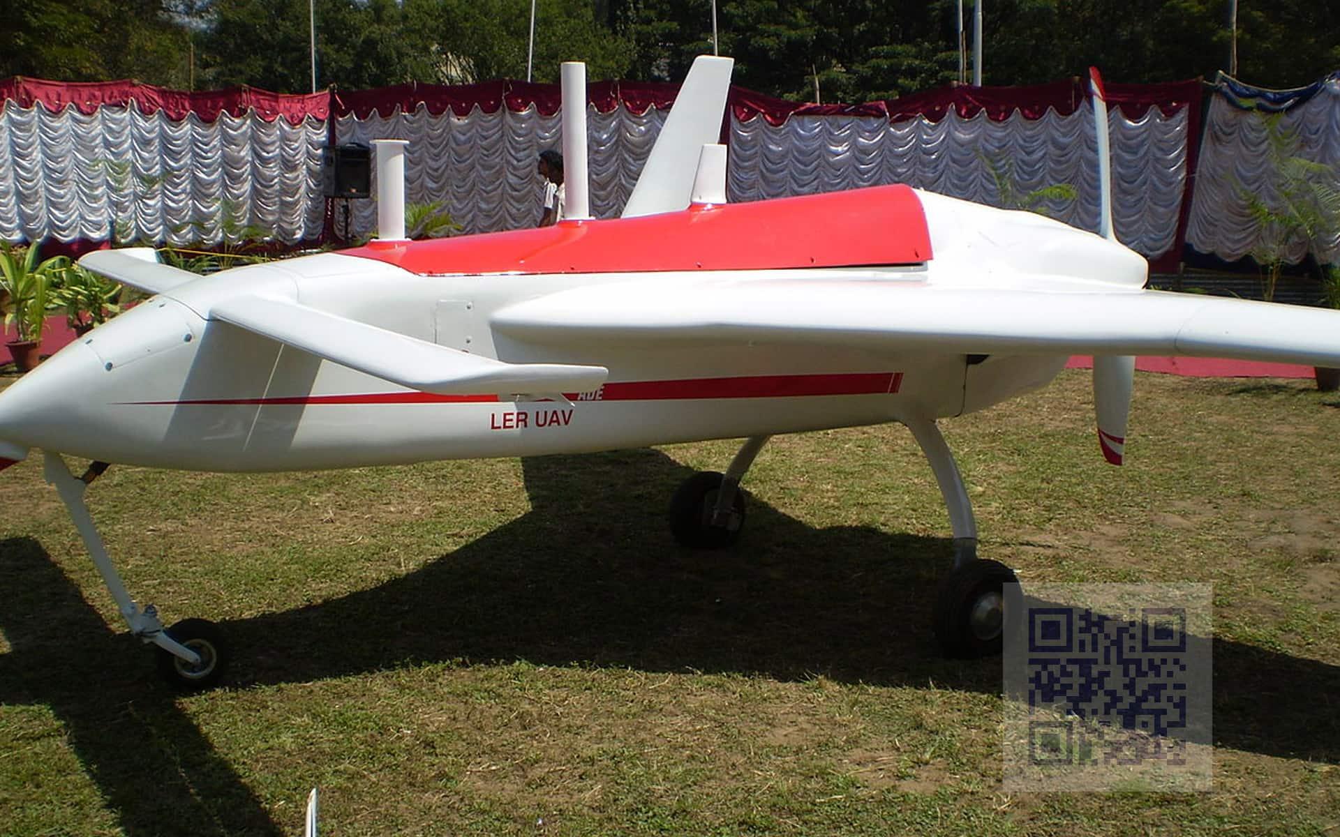 Rustom-1 UAV prototype