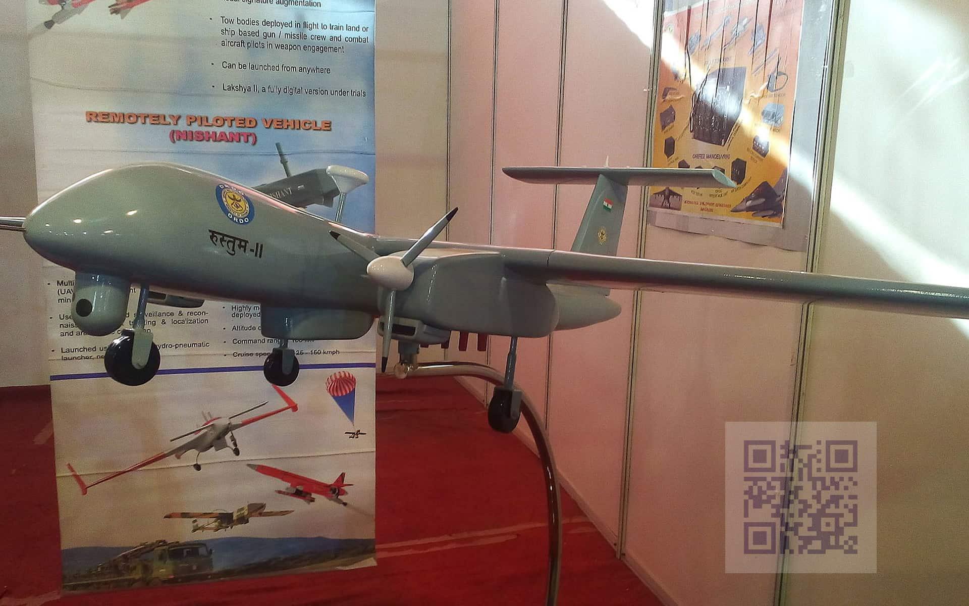 TAPAS-BH-201 - Rustom-2 model