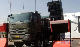 Rafael SPYDER air defence System at Aero India 2013