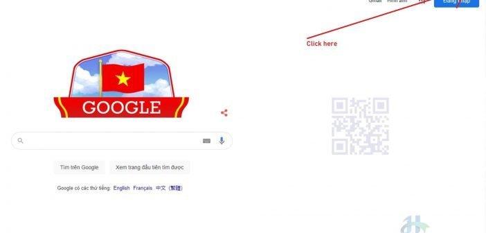 Mở Google Chrome Setting Page
