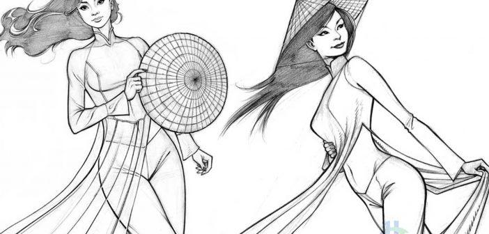 Ao Dai (Oriental robe) - Special Symbol Culture in Vietnam
