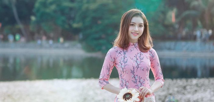 The Ao dai in Vietnam has become symbolic of the Vietnamese Culture