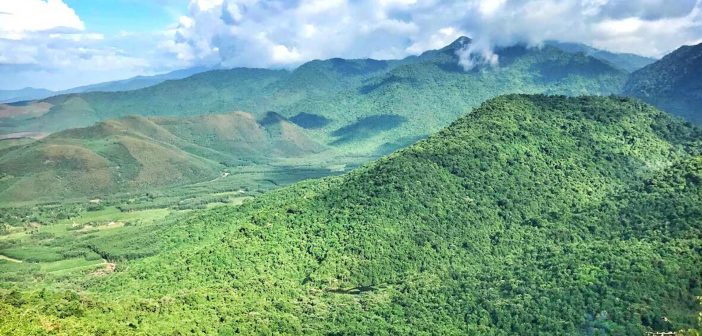 The White Hourse national park in central Vietnam and close to both Danang and Hue.