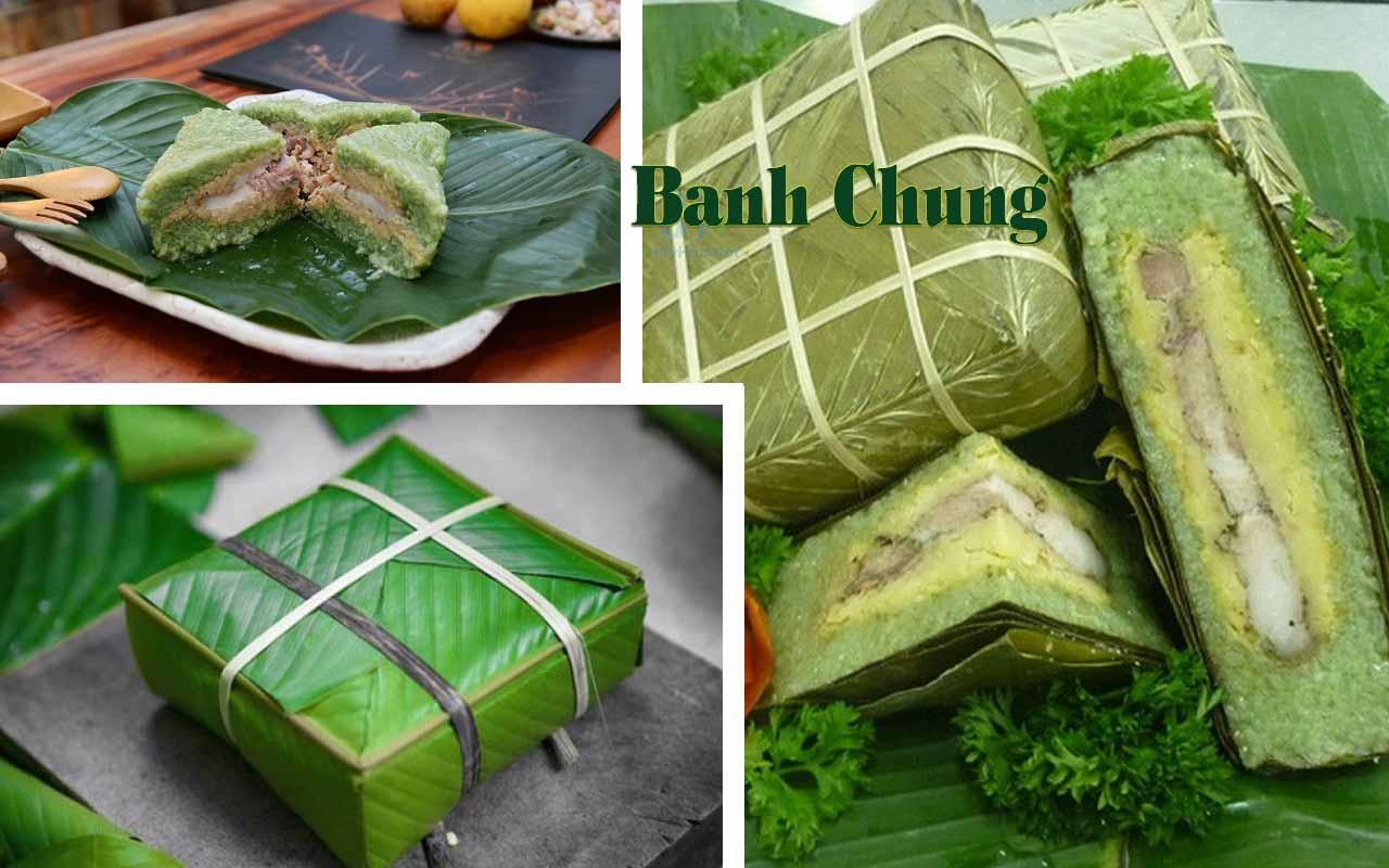 How to eat Banh Chung?