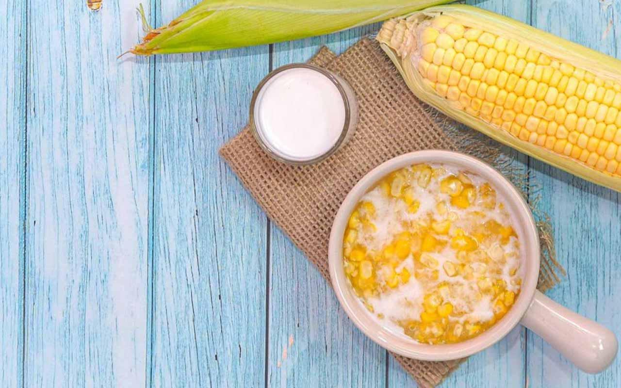 Chè Bắp – Vietnamese Sweet Corn Pudding