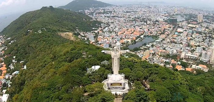 Statue of Christ in Vung Tau is the largest statue in Vietnam
