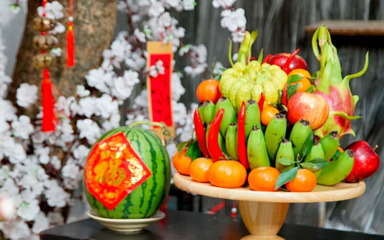 Five-fruit tray – an essential part of Tet holiday in Vietnam