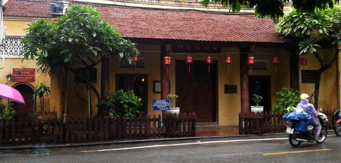 Bach Ma Temple is believed to be the oldest temples in Hanoi.