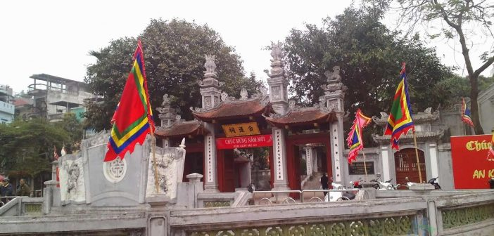 Kim Lien Temple - one of 4 Ancient Guardians temple of Thang Long