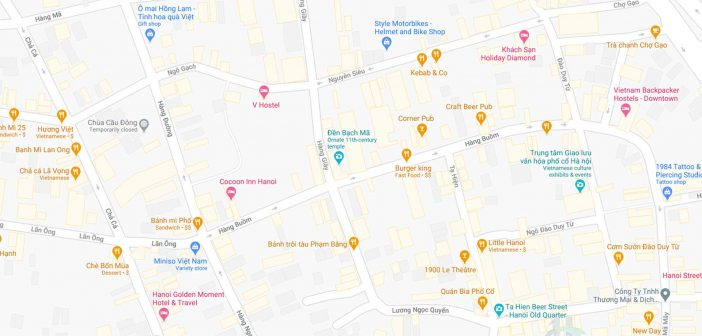 Hang Buom Map