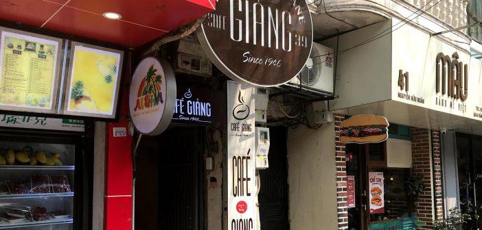 Coffee Giang - 39 Nguyen Huu Huan, Hang Bac, Hoan Kiem, Ha Noi