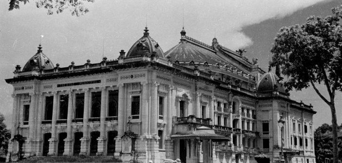 View of Hanoi Opera House in 1940