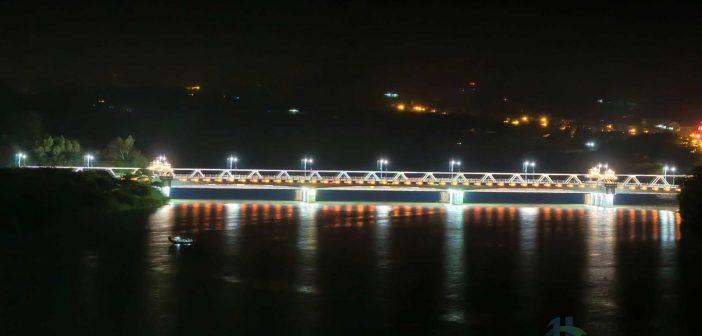 Bach Ho Bridge, Hue at Night