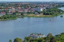 Perfume River (Huong River) in Hue, Vietnam
