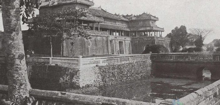 The Monumental gate of the Imperial Palace, known as the gate of Ngo Mon