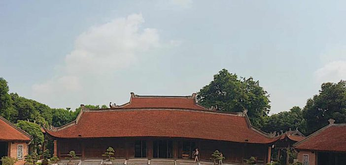 Temple of Literature Hanoi consists of five separate courtyards