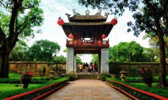 Temple of Literature - is atemple dedicated to Confucius