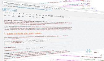 Hàm get_post_meta() Wordpress: Cách sử dụng và ví dụ cụ thể