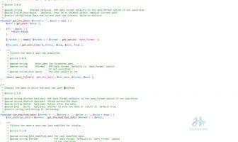Hướng dẫn sử dụng hàm get_the_date trong Wordpress