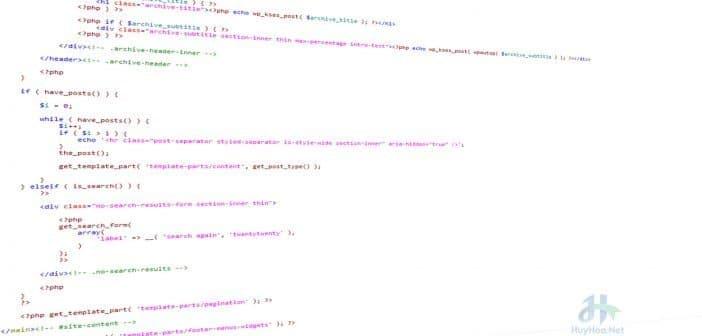 Hàm get_template_part(): Cách sử dụng và ví dụ cụ thể