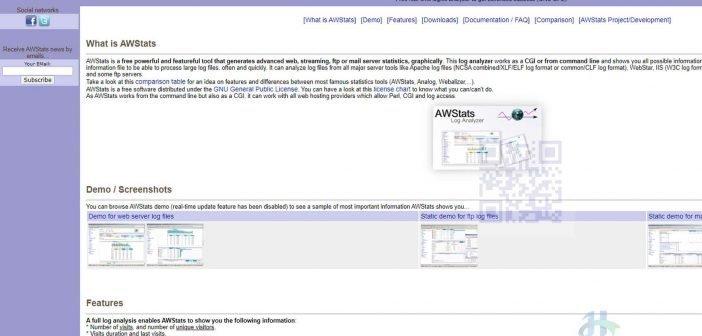 AWStats thường được dùng để thống kê trên các Web Hosting Server như Cpanel...