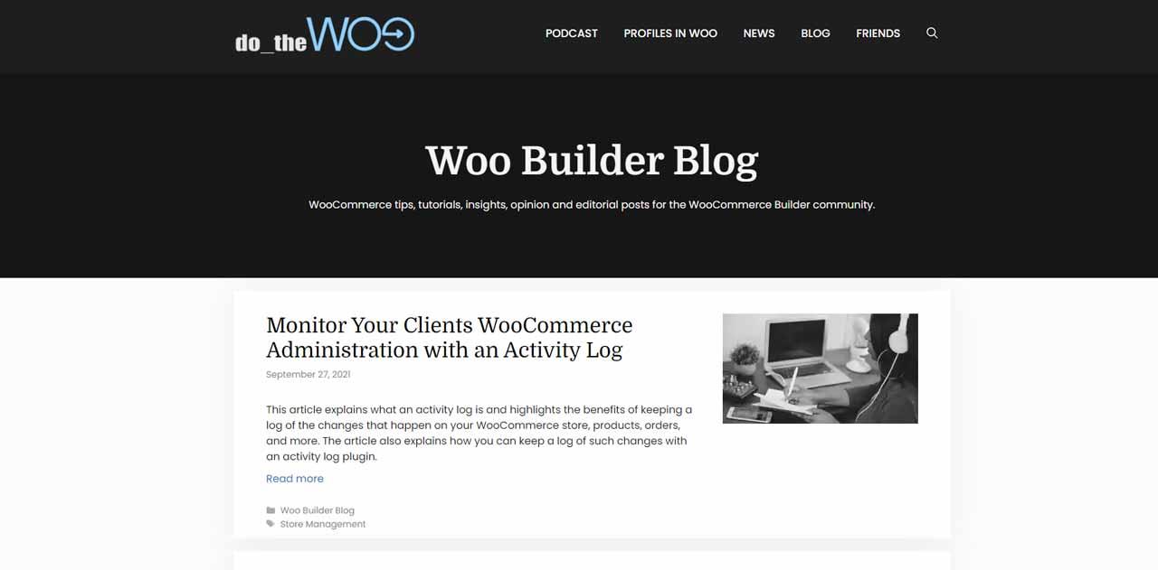 Woo Builder Blog