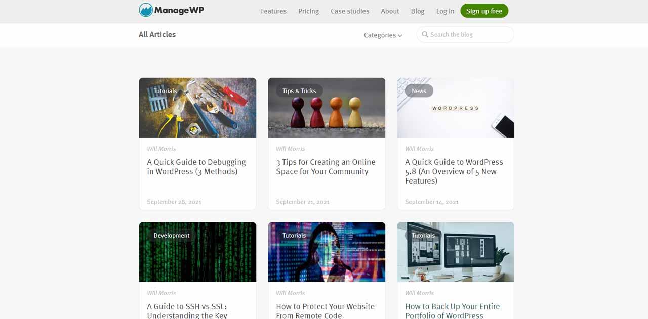 ManageWP Blog