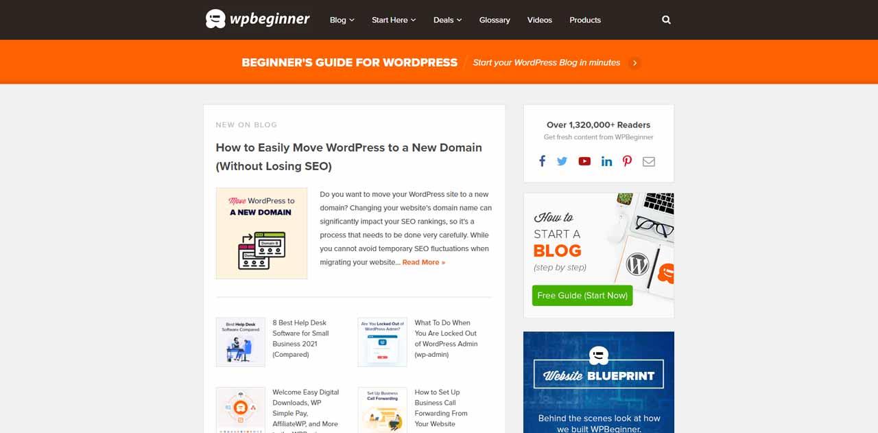 WPBeginner: Beginner's Guide for WordPress